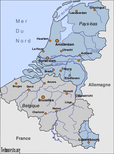 Carte Allemagne Et Hollande.La Gastronomie Europeenne