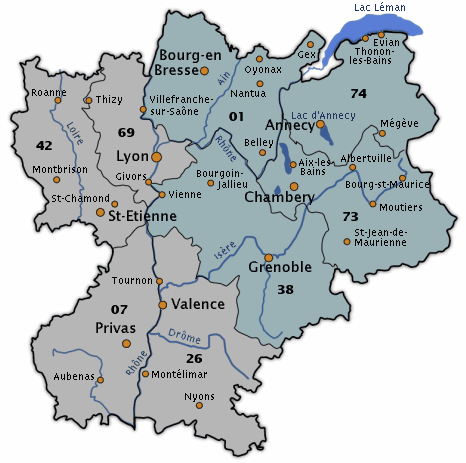 grenoble region rhone alpes