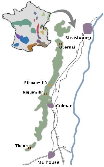 Le Vignoble D Alsace